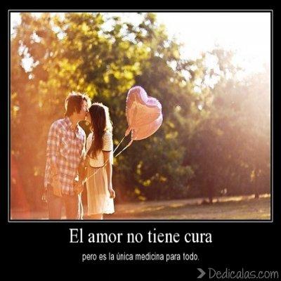 el amor no tiene cura El amor no tiene cura