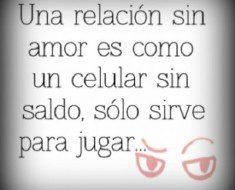 una relacion sin amor 235x190 Una relación sin amor es como un celular sin saldo
